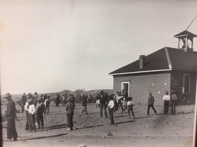Schoolhouse, circa 1914