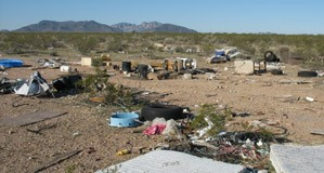 Trash on State Trust Land